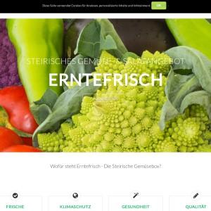 Erntefrisch die Steirische Gemüsebox
